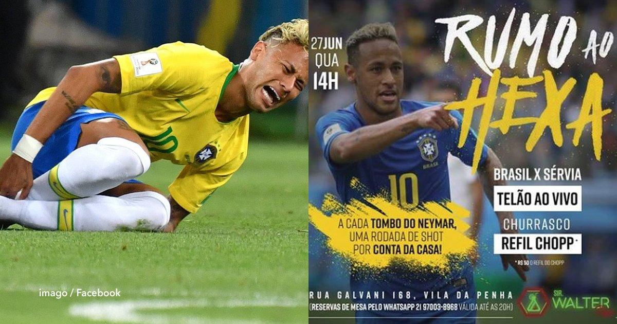 1 cov.png?resize=300,169 - En este bar brasilero ofrecen chupitos gratis por cada caída de Neymar