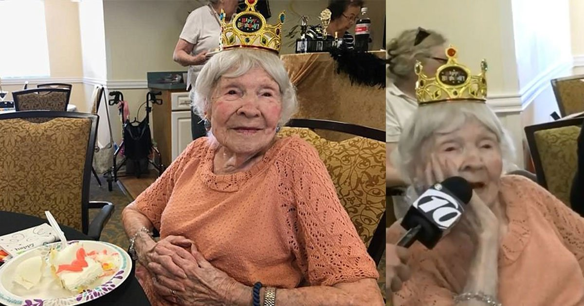 105 year old helen granier revealed her secret to longevity and it is quite surprising.jpg?resize=412,232 - 105-Year-Old Helen Granier Revealed Her Secret To Longevity And It Is Quite Surprising