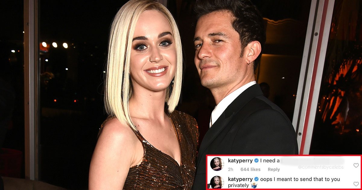 11 7.jpg?resize=1200,630 - Katy Perry a accidentellement laissé un commentaire très osé sur le post Instagram d'Orlando Bloom.