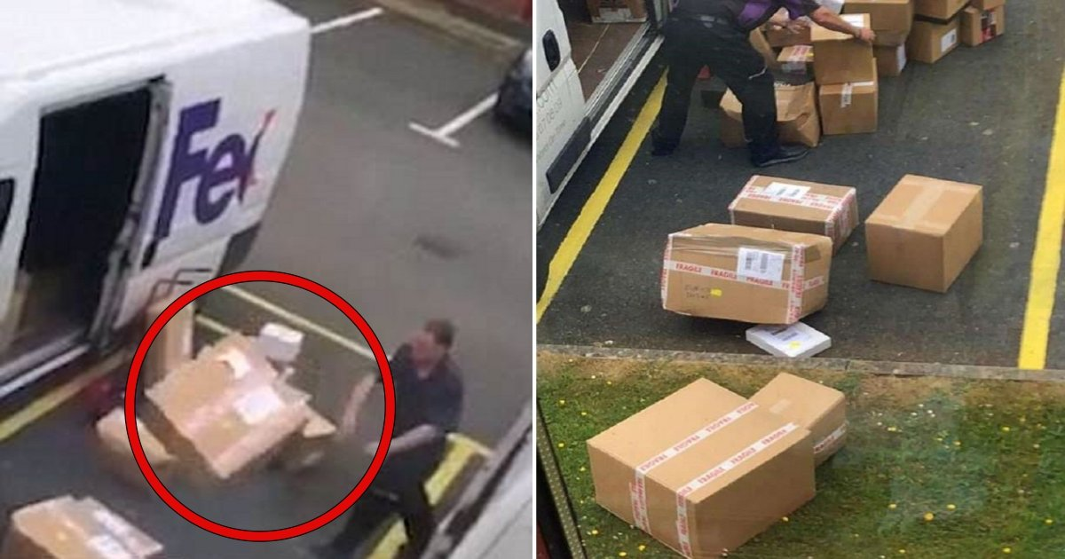 11 side 1.jpg?resize=412,232 - This Woman Couldn't Believe What She Caught These FedEx Employees Doing So She Filmed Them