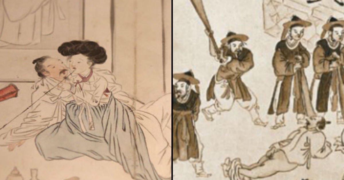 1234 1.jpg?resize=412,232 - 성범죄자들이 보면 까무러친다는 '조선시대의 성범죄자 형벌' 7가지