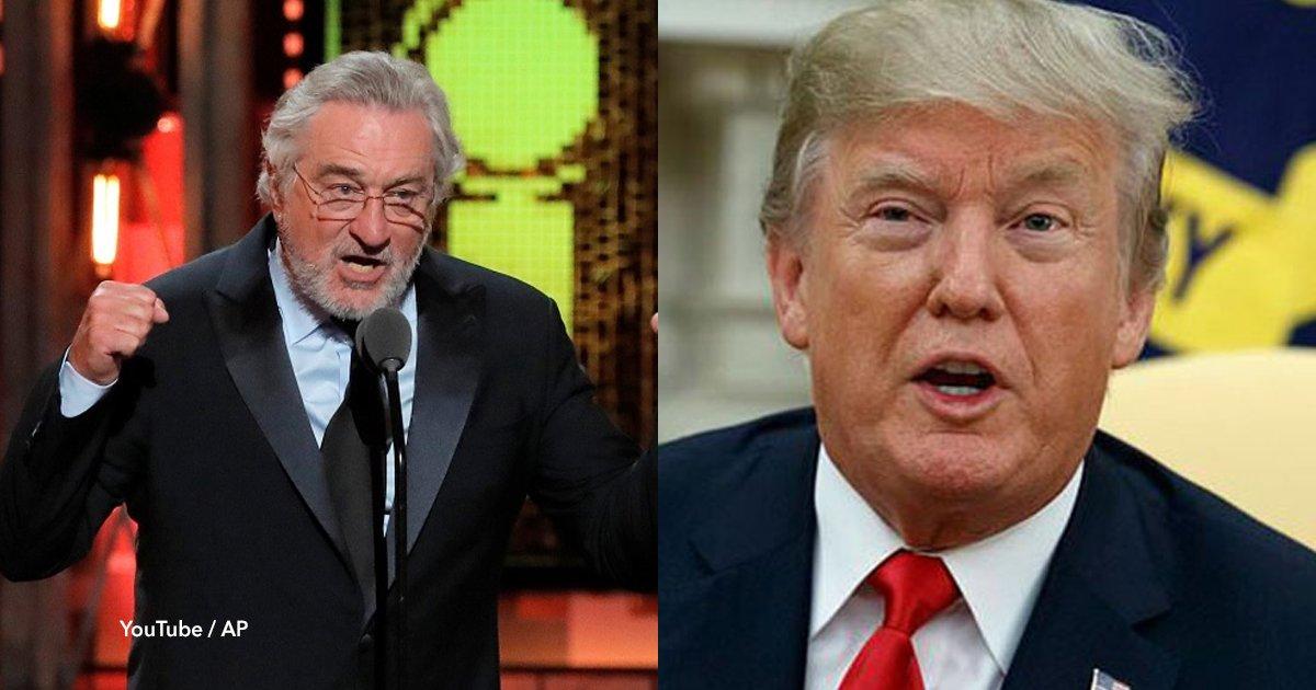 2 cov 3.jpg?resize=300,169 - Robert de Niro insultó a Trump en los premios Tony y el presidente decidió responderle por Twitter