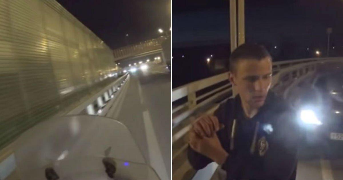 4 3 1.jpg?resize=300,169 - 한 남성이 고속도로 '역주행' 하고도 박수 받은 이유 (영상)