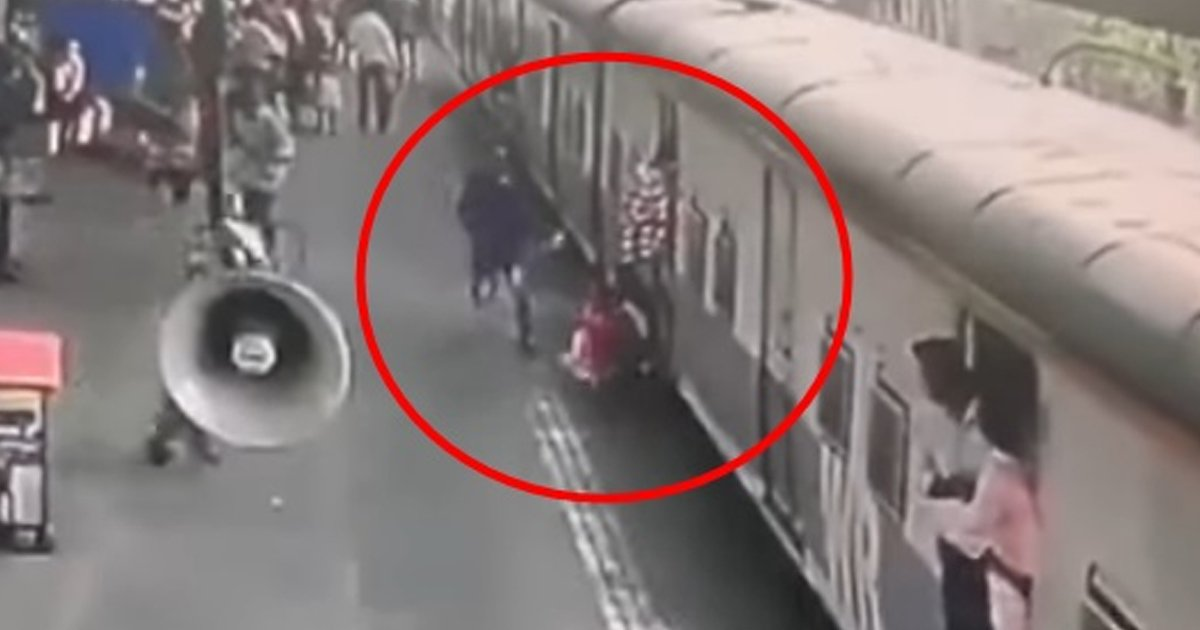 6 10.jpg?resize=1200,630 - A Brave Man Saves Little Girl From Getting Sucked Under The Train