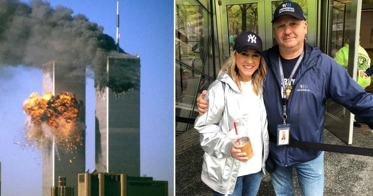 911 survivor.jpg?resize=412,232 - Woman Asked A Stranger Where He Was On 9/11, He Revealed He Was One Of The Survivors