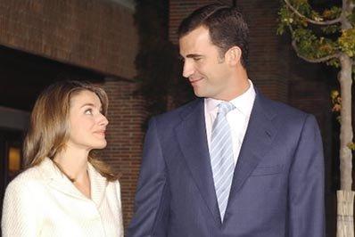 Image result for Letizia Ortiz y felipe novios