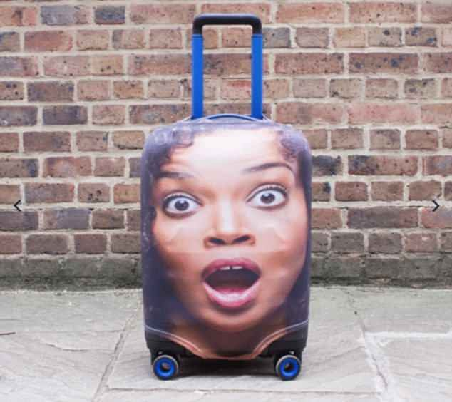 Holidaymakers are increasingly spotted dragging the suitcases around airport terminals as confused passersby wonder if they are seeing double