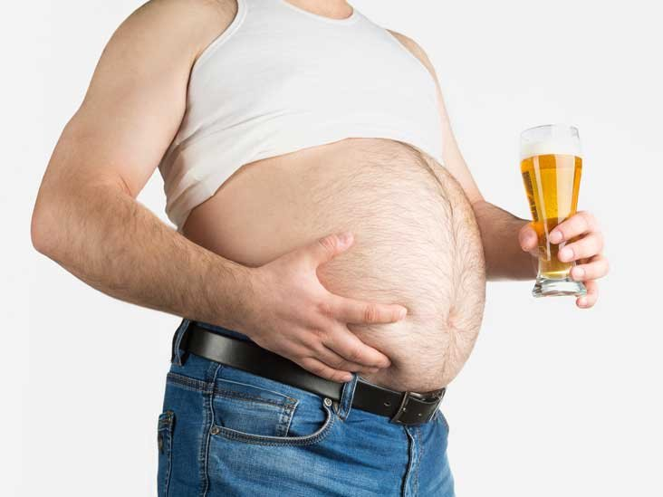 Image result for alcohol belly