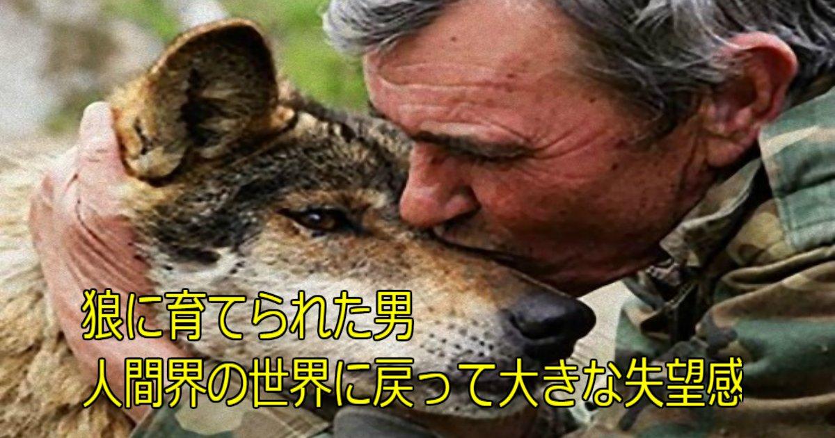 a 29.jpg?resize=1200,630 - 狼に育てられた男、人間界の世界に戻って大きな失望感(スペイン)