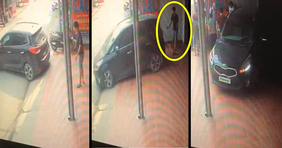 aa 7.jpg?resize=648,365 - Woman Accidentally Reverses Her Car Straight Into The Man Who Was Helping Her Park