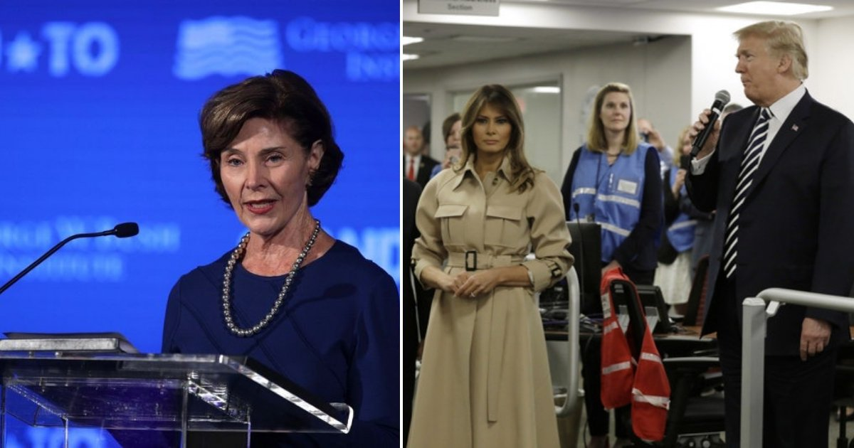 aa side 1.jpg?resize=636,358 - All Living First Ladies, Including Melania, Weigh In On Separating Immigrant Families