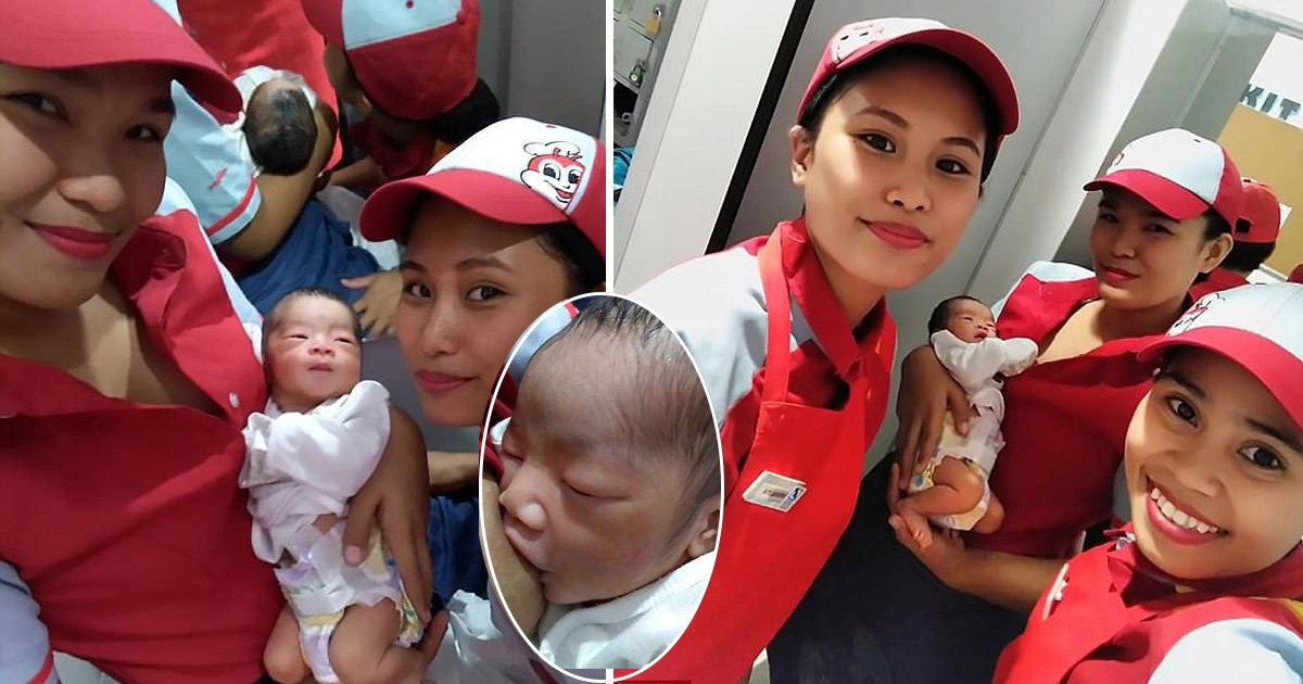 adfasfd.jpg?resize=412,275 - Fast Food Employee Breastfeeds Baby They Found Outside A Restaurant