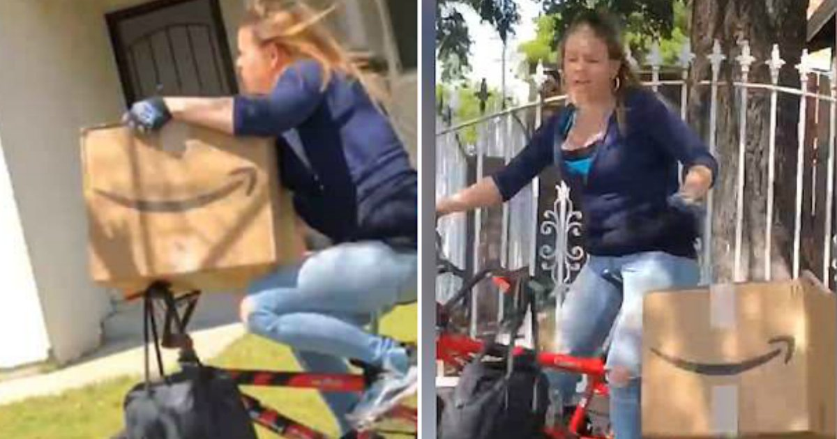 amazon thief.jpg?resize=412,232 - Man Furiously Chased The Thief And Told Her To Return Amazon Package She Stole From His Neighbor
