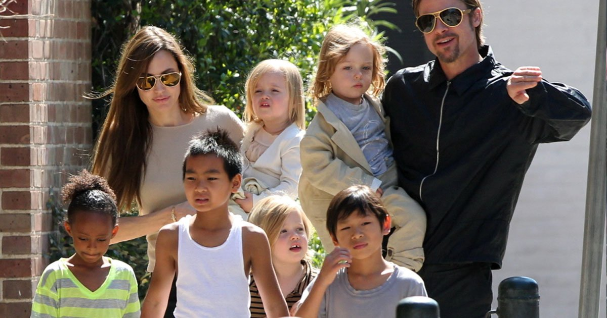 angelina.jpg?resize=1200,630 - Angelina é obrigada a deixar Brad ficar com seus filhos por mais tempo ou ela perderá a custódia primária