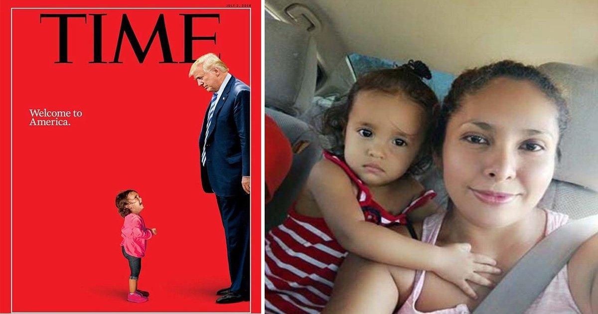 asfasdf 1.jpg?resize=648,365 - Time Magazine reconnait que la petite fille choisie pour leur couverture n'a jamais été séparée de sa famille
