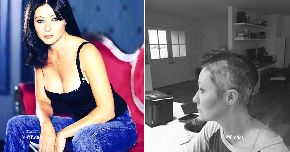 bbh.jpg?resize=648,365 - La actriz Shannen Doherty se sometió a cirugía reconstructiva, sigue su lucha contra el cáncer de mama