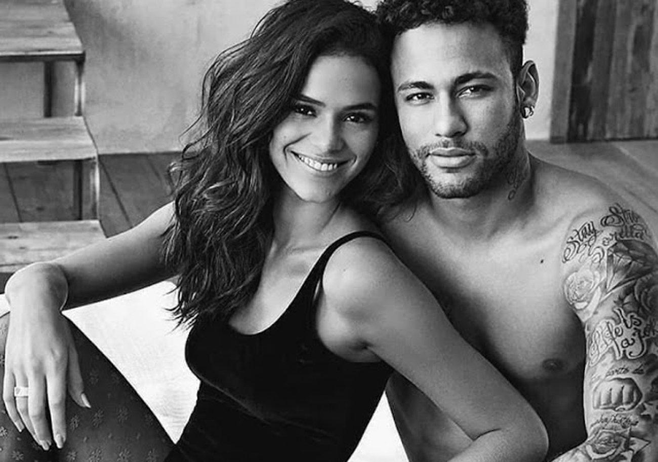 bruna marquezine neymar 3 copia.jpg?resize=648,365 - 8 casais de famosos que estrelaram juntos campanhas publicitárias para o Dia dos Namorados