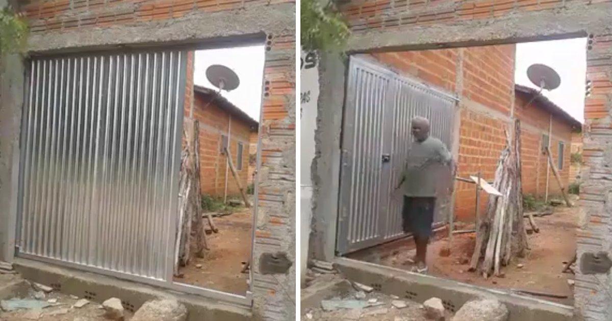 capa00dgtsu.png?resize=636,358 - Morador cria portão sensacional para sua casa com pouco espaço
