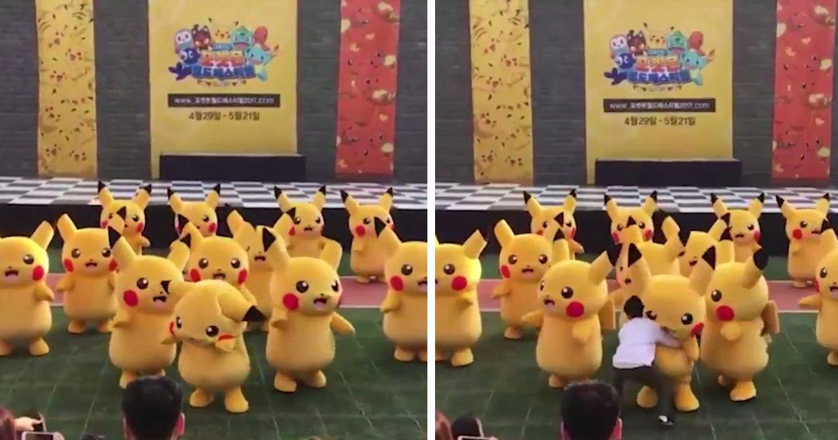 capa111ed.png?resize=300,169 - Fantasia de um Pikachu murcha durante uma apresentação e reação dos seguranças do evento é hilária!