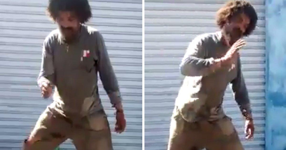capa2 3.png?resize=648,365 - Morador de rua dá show dançando como um profissional