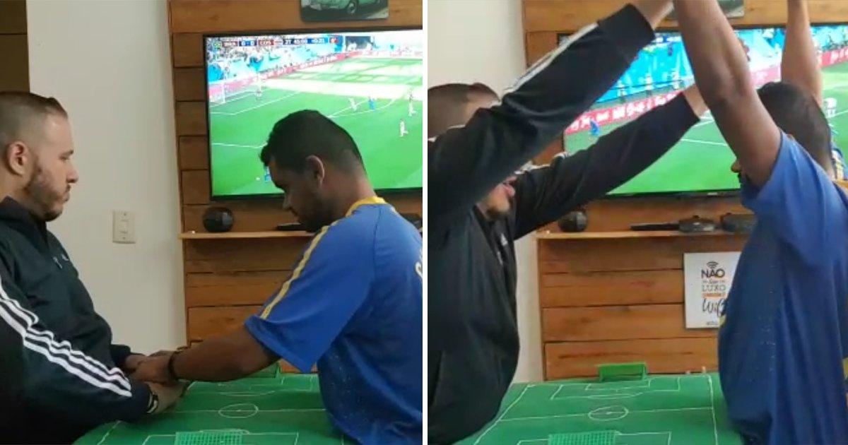 capa4 6.png?resize=1200,630 - Surdocego comemora gol do Brasil na Copa com a ajuda de um Guia-Intérprete