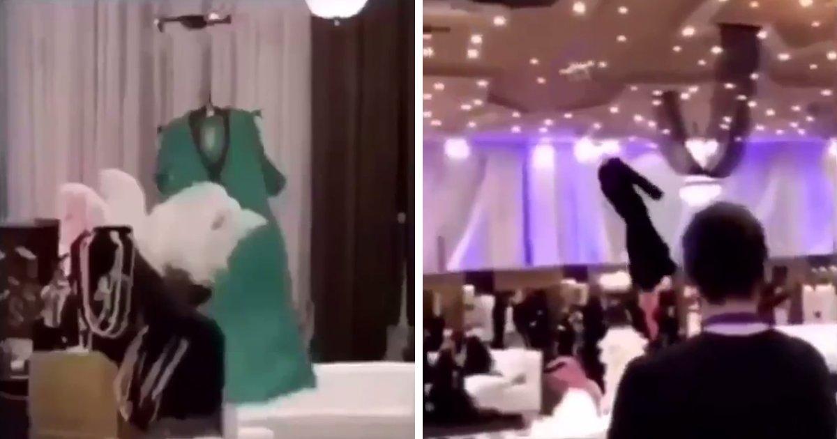 capa4.png?resize=1200,630 - Desfile de moda na Arábia Saudita não permite modelos femininas, então os vestidos são carregados por drones na passarela