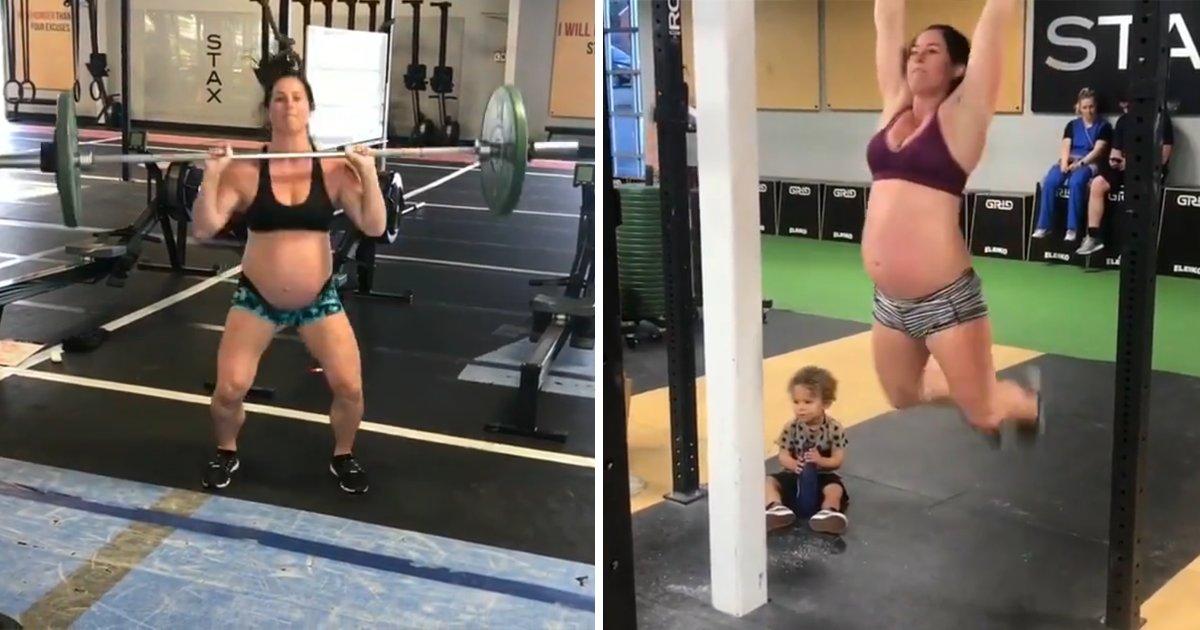 capaa9.png?resize=1200,630 - Vídeo polêmico mostra mulher grávida fazendo exercícios pesados