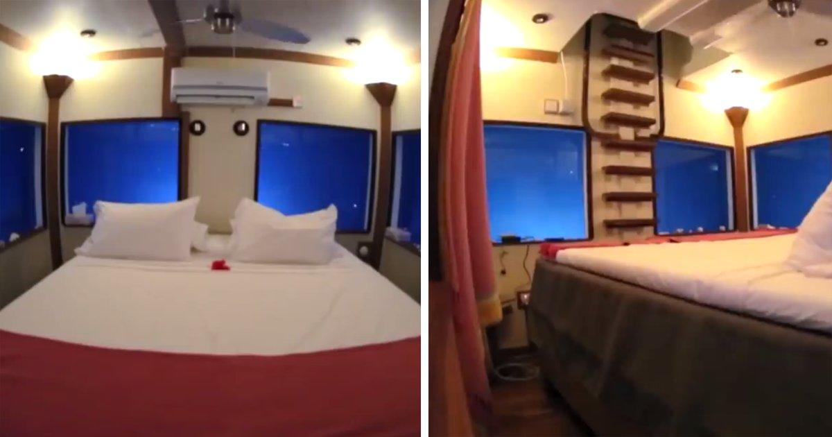 capassss.png?resize=648,365 - Hotel na Tanzânia tem quarto debaixo d'água: Você encararia?