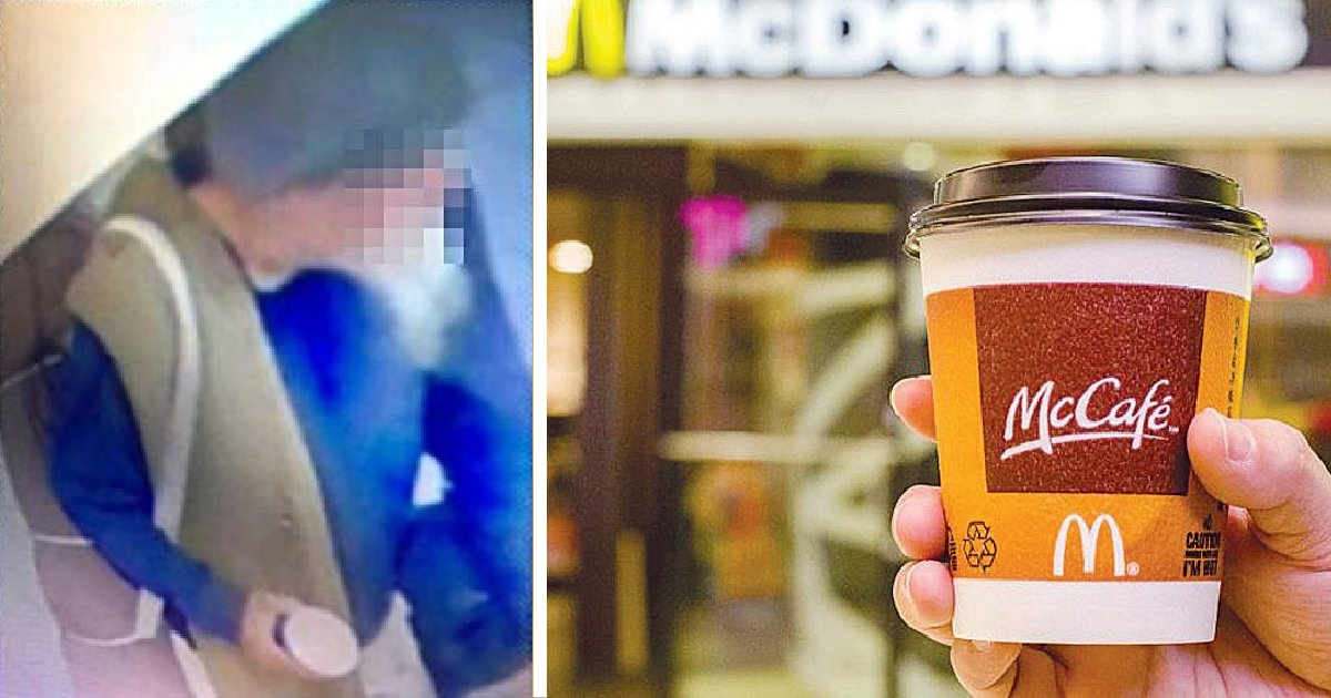Man Threw Hot Coffee At Mcdonald