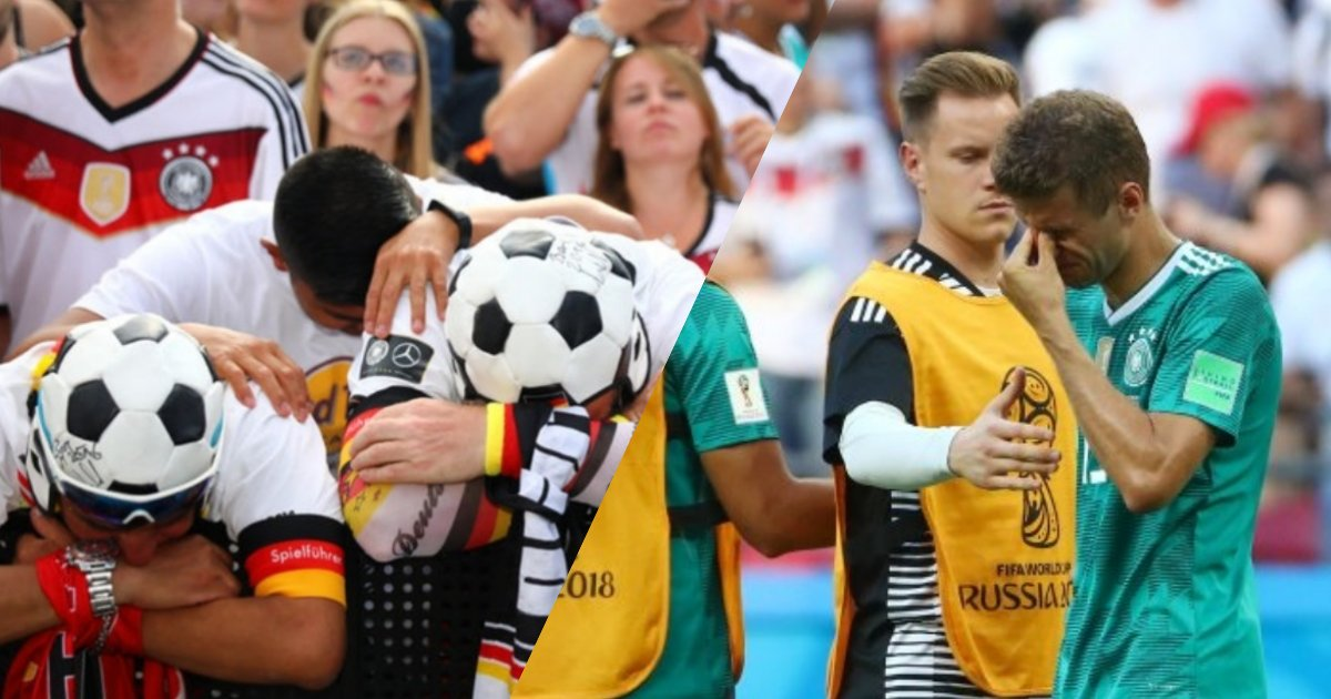 collage 2.png?resize=636,358 - Defending Champion Germany Crashes Out Of The World Cup At The Bottom Of Group F In An Embarrassing Exit