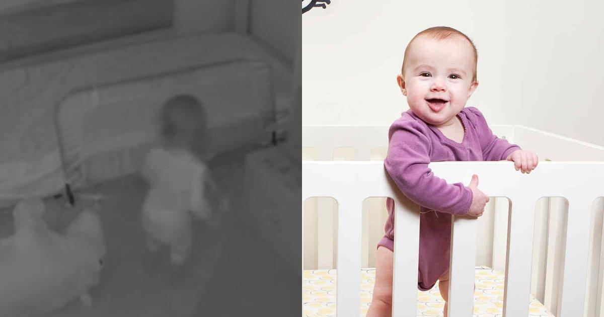 """cov 1.jpg?resize=648,365 - Una cámara oculta revela cómo un bebé consigue escapar de su cuna con la ayuda de dos """"cómplices"""""""