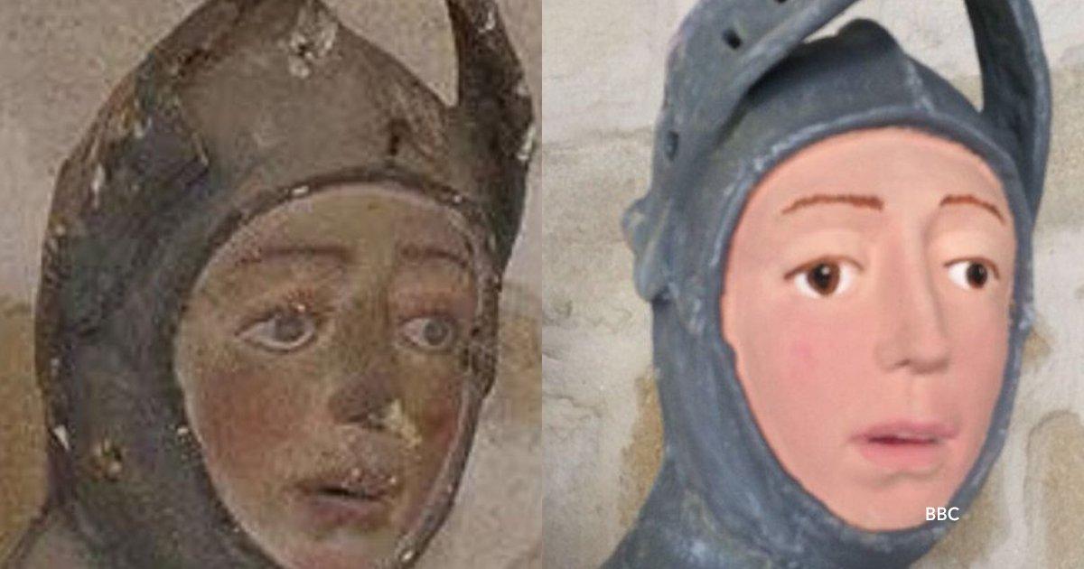 """cov 4 1.png?resize=300,169 - La escultura del San Jorge de Estella pasó por una horrorosa restauración y es considerado el nuevo """"Ecce Homo"""""""