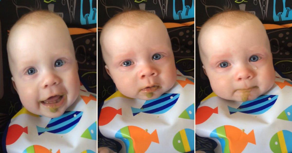 cry.png?resize=300,169 - Une maman chante pour son bébé, qui est ému aux larmes