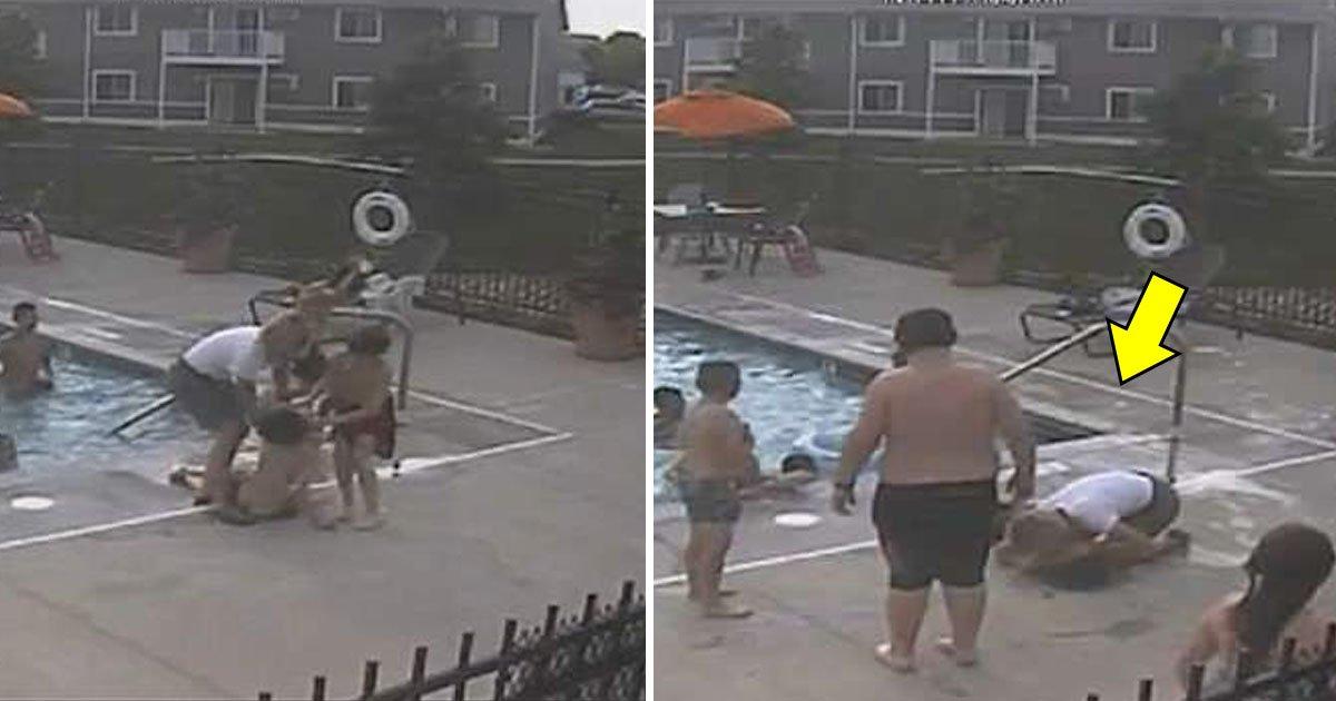drowning.jpg?resize=412,232 - Une femme souffrant de fibromyalgie sauve un garçon qui se noie en effectuant une réanimation et des compressions sur la poitrine