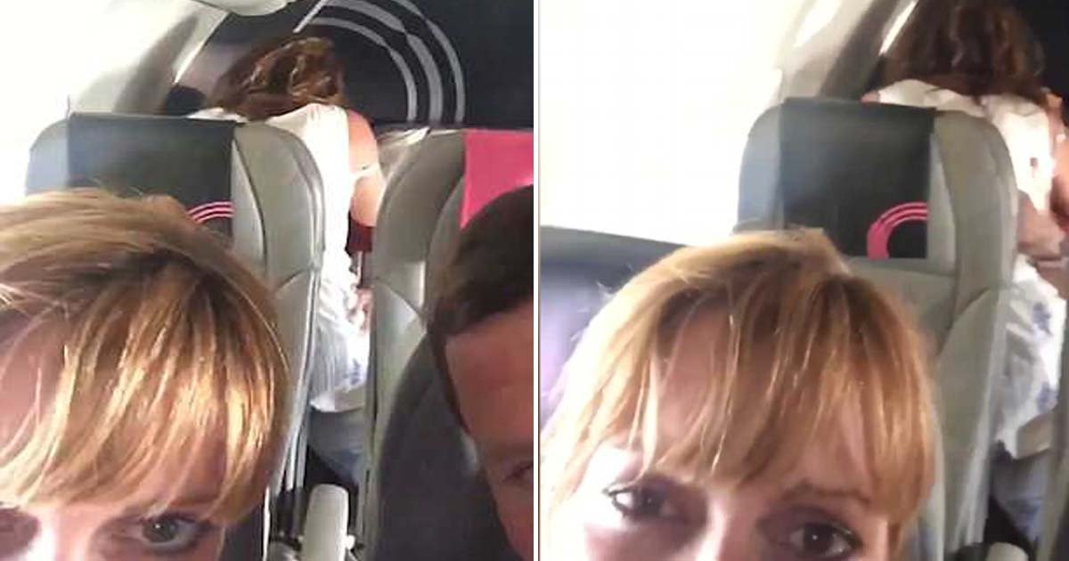 ebacb4eca09c 1 ebb3b5ec82ac 101.jpg?resize=636,358 - Parents See Something Absurd On Plane And Sends A Video Of It To Their Daughter