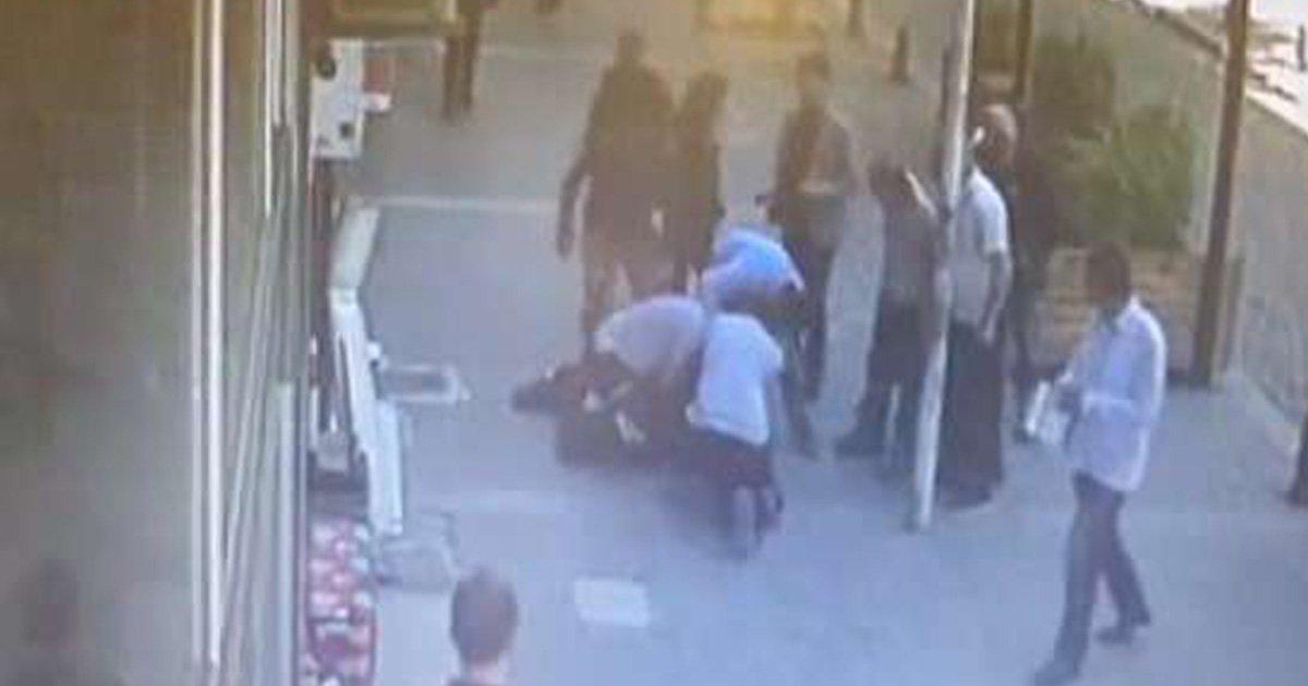"""ec98a4ec8db8eb84ac.jpg?resize=1200,630 - Ce """"héros"""" intervient alors qu'un homme est en train de battre son """"ex-femme"""" en pleine rue"""
