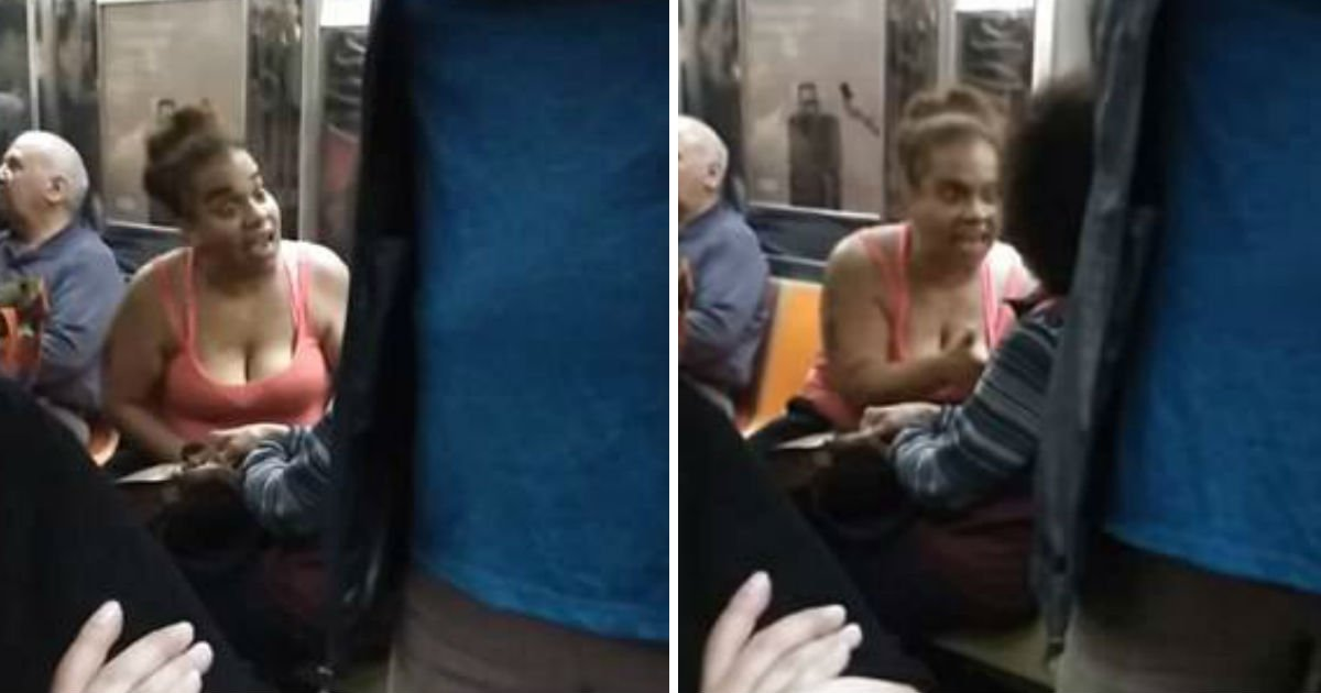 ec9db4eba684 ec9786ec9d8c 1.jpg?resize=412,232 - A Mother Threatened Woman On The Subway Of New York, And Asked Her Daughter To Push The Woman
