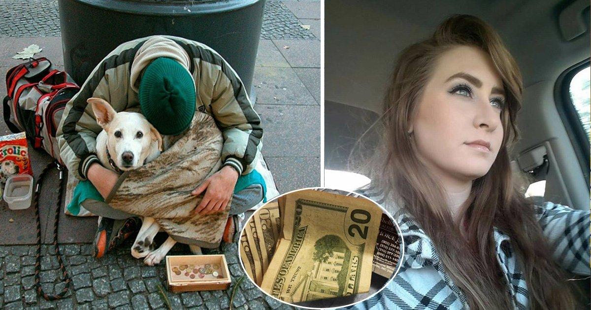 fasdfasfd.jpg?resize=300,169 - Cette jeune fille a donné de l'argent à un homme dans la rue sans savoir quelle surprise l'attendrait quelques mois plus tard