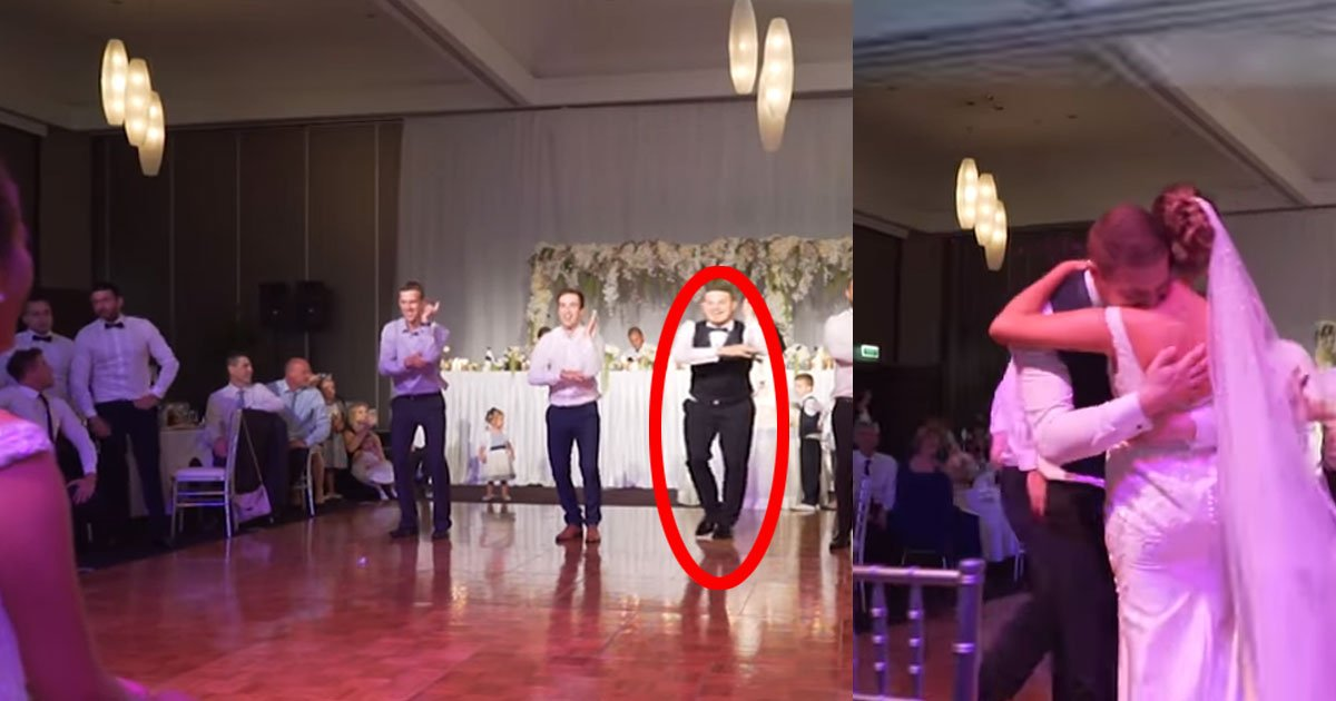 featured 7.jpg?resize=412,232 - El novio sorprende a la novia el día de su boda con una coreografía de baile increíble: su reacción no tiene precio