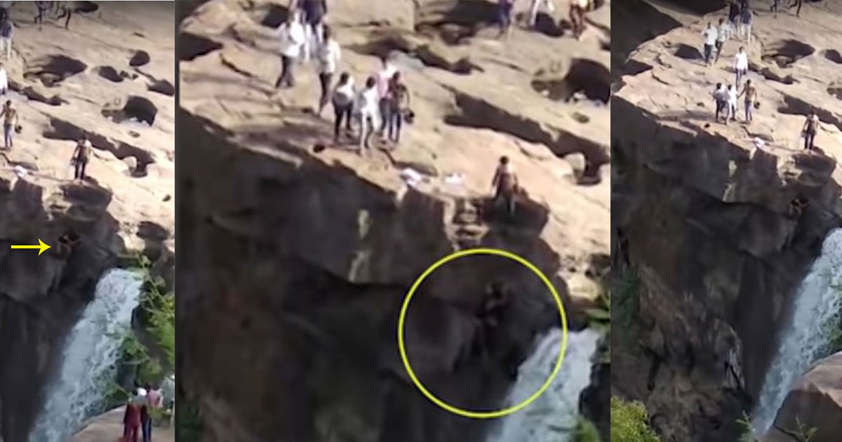 featured1 1.jpg?resize=1200,630 - A Man Lost His Life After Falling From A 170 Feet  High Waterfall While Trying To Take A 'Selfie'