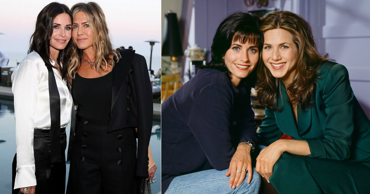 friends friendship.jpg?resize=1200,630 - Long Lasting Friendship Between Friends' Stars Jennifer Aniston And Courteney Cox