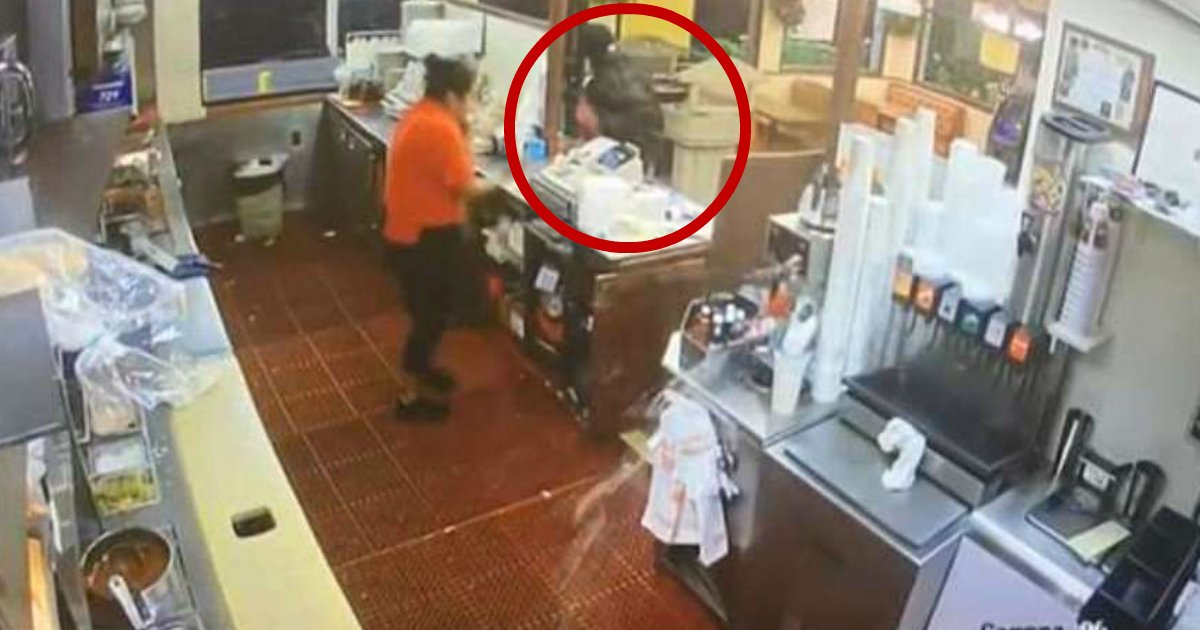 good or bad.jpg?resize=648,365 - Customer Stops Fast-Food Robbery By Shooting The Criminal Through The Drive-Thru Window