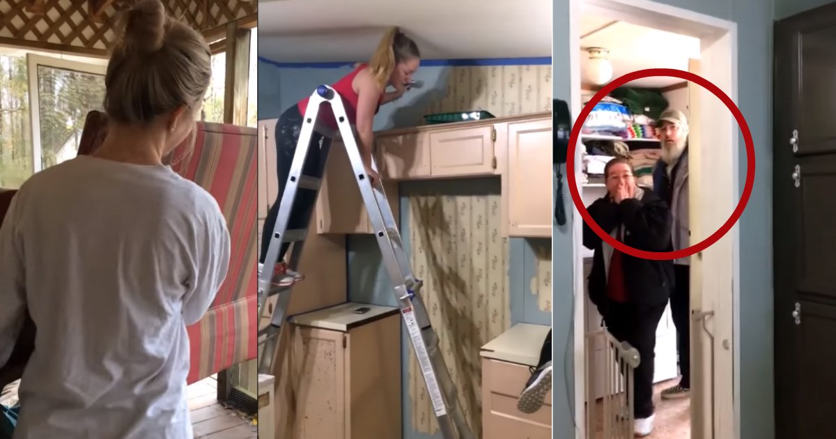 house makeover.jpg?resize=648,365 - These Four Sisters Transformed Their Home While Parents Were Away