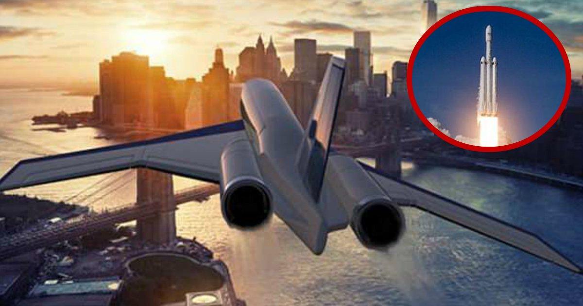 hypersonic plane.jpg?resize=412,232 - Un avion hypersonique pourrait voler à 6 500 km/h, ce qui signifie que vous pourriez rallier New York à Londres en seulement deux heures!