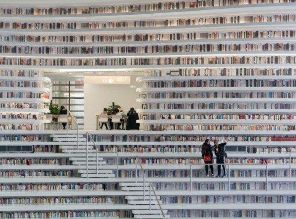 img 5b1708b3e541c.png?resize=1200,630 - 中國天津「網紅」圖書館極美 全世界書蟲驚豔!