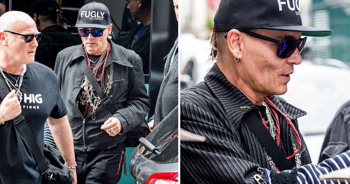 johny dipp.jpg?resize=648,365 - Os fãs estão preocupados com a aparência magra de Johnny Depp