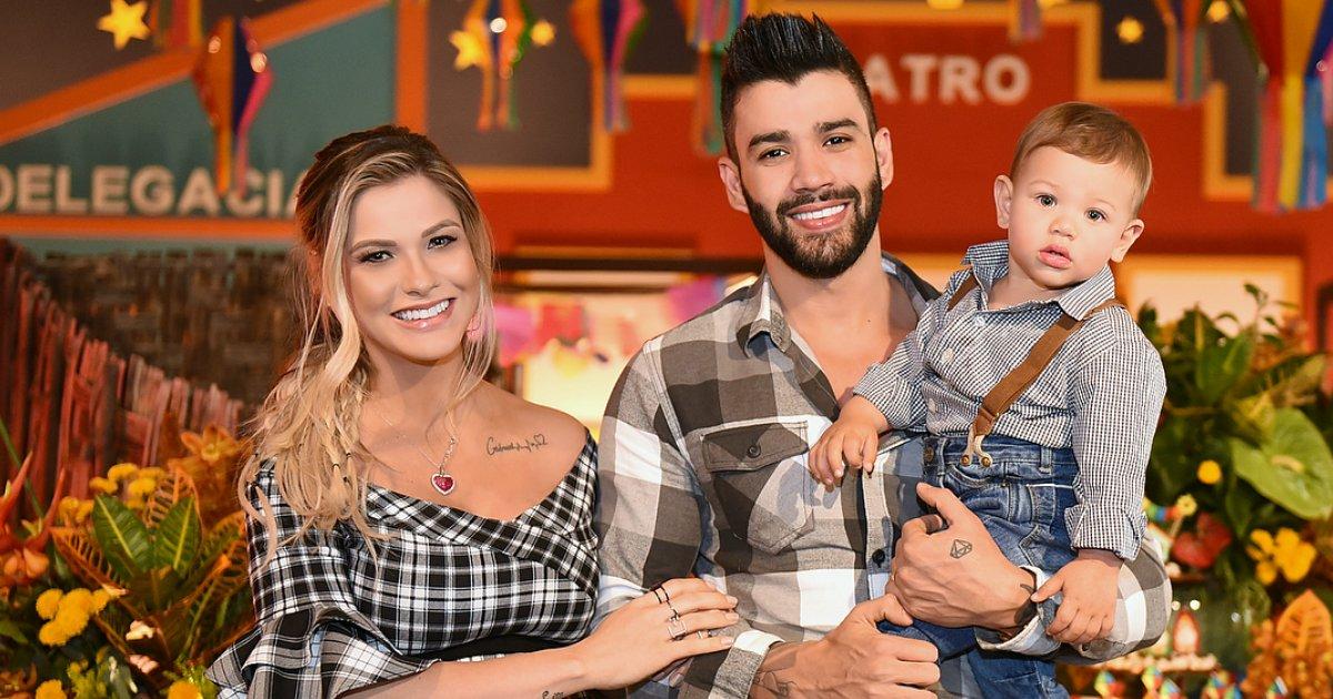 lima1.png?resize=300,169 - Gusttavo Lima e Andressa Suita comemoram 1 ano do filho
