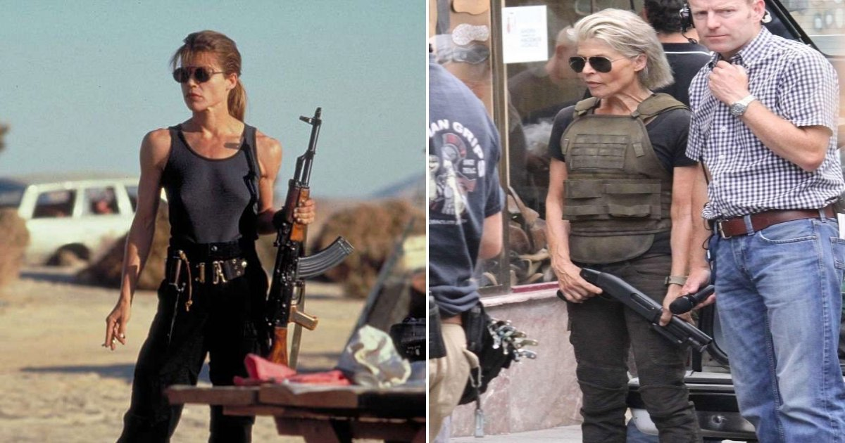 linda.jpg?resize=412,275 - Linda Hamilton, 61, Looked As Fit As She Was In First Movie 1984 'Terminator'