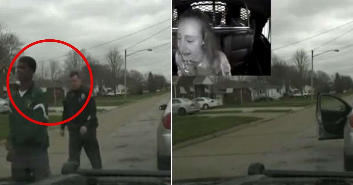 lorain officer side.jpg?resize=412,275 - Ohio Cop Fired For Pulling Over And Detaining Daughter's Boyfriend Without Any Reason