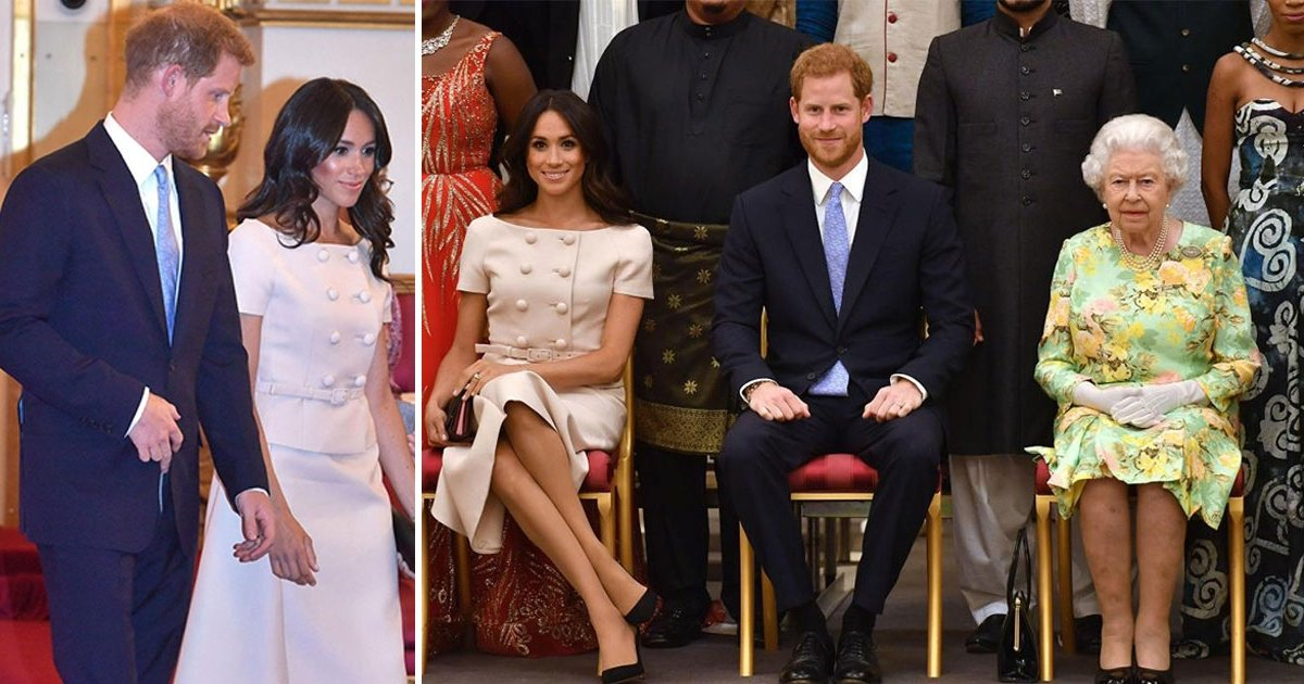 m side.jpg?resize=1200,630 - Meghan Markle's New Curls Drew Comparison To Sister-In-Law Kate As She Joined Queen And Harry For Star-studded Reception
